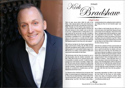 High Profile: Kirk Bradshaw