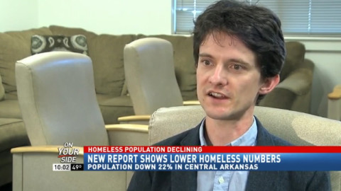 Arkansas homeless population on the decline, 12% down from 2013