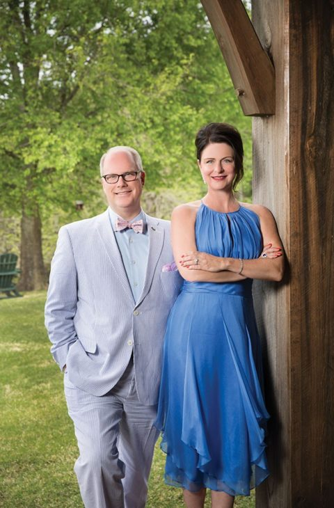 Bobbi and Dustin McDaniel promise an evening of hospitality and hope at Dinner on the Grounds to benefit Our House.