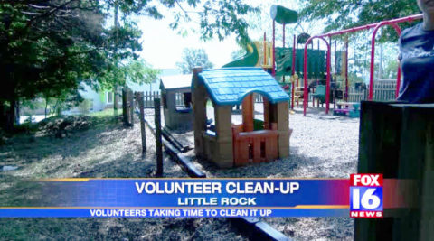 "Parents Clean Up ""Our House"" in Little Rock Saturday"
