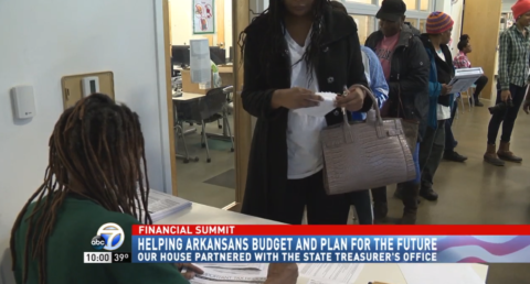 Nonprofit teams up with Arkansas treasurer to host financial health summit